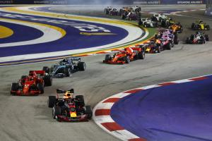 F1 Singapore GP - Race Results