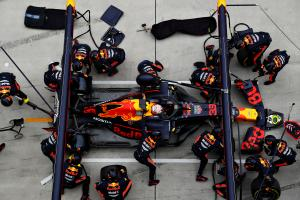 Red Bull: Ferrari faster but good strategy made difference