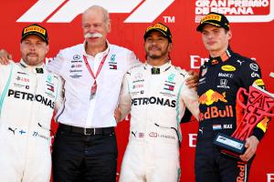 Verstappen: Mercedes 'too quick' but deserves F1 success