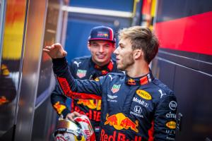 Gasly: Verstappen a good benchmark for me at Red Bull