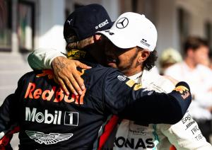 Hamilton: 'No better feeling' than fighting Max at his best