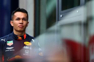 Albon: Red Bull news came during 'normal catch up' with Marko