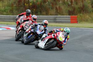 Honda's Irwin powers to first BSB win at Thruxton