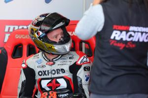 Bridewell quickest in rain-affected Cadwell Park FP2 session
