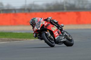 Redding under lap record to lead at Assen
