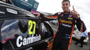 Maiden pole 'a massive relief' - Cammish
