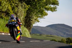 Cummins fastest as Isle of Man TT action restarts