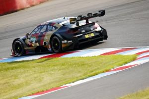 Mortara takes first DTM win since 2016
