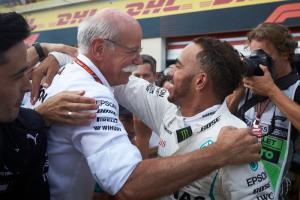 Hamilton now a well-deserved legend of F1 – Zetsche