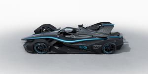 Mercedes unveils first Formula E car