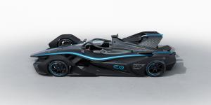 Mercedes unveils first Formula E car