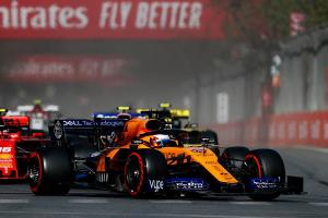 Sainz: First points for McLaren in Baku a 'relief'