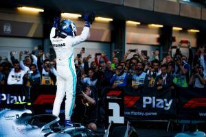 Bottas fends off Hamilton for redemptive Azerbaijan GP win