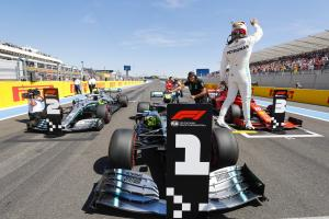 Formula 1 French Grand Prix - Starting Grid