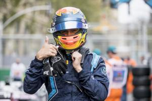 Albon beats Norris to maiden F2 pole in Baku