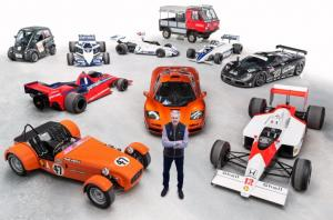 Designer Gordon Murray awarded CBE in New Year Honours