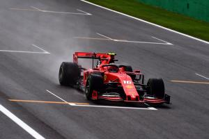 Leclerc quickest as three red flags interrupt Monza FP1