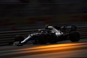 Bottas leads Mercedes 1-2, clashes with Grosjean in Abu Dhabi FP2