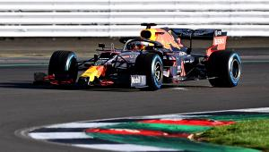 Verstappen debuts Red Bull RB16 in Silverstone shakedown