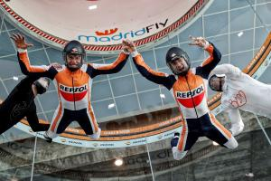 VIDEO: Marquez, Pedrosa floating on air