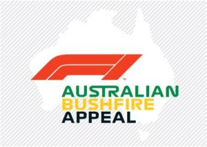 F1 announces charity auction to aid Australian bushfire victims