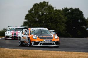 Wrigley converts pole to win in race two