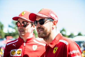 Vettel: Leclerc will put a lot of pressure on me this year