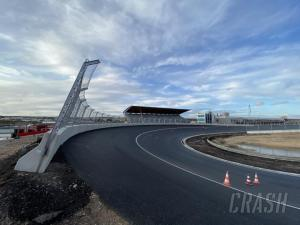 Zandvoort banked turns completed ahead of F1 Dutch Grand Prix