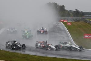 Heavy rain forces Barber IndyCar postponement
