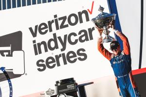 Dixon seals fifth IndyCar title as Hunter-Reay takes Sonoma win