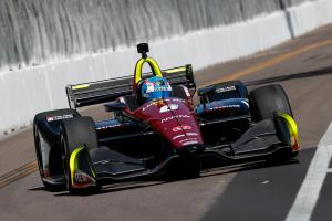 Wickens takes debut IndyCar pole at St. Petersburg