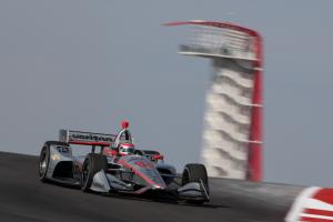 Power scorches COTA pavement to lead Practice 2