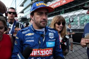 Alonso on Indy 500 exit: We were just not fast enough