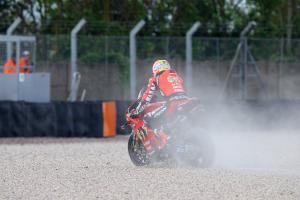 Brookes laments 'less than acceptable' Donington results
