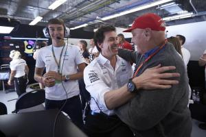 Mercedes dedicates sixth straight F1 title to Lauda
