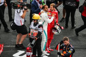 Hamilton reveals what Vettel said to him after title win