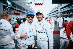 Hamilton and Vettel pay tribute to 'true F1 legend' Alonso