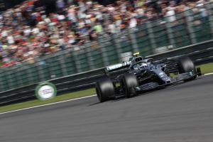 Bottas turned down engine on 'Sunday drive' to Spa podium