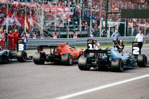 Formula 1 Italian Grand Prix - Starting Grid