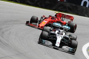 F1 Brazilian Grand Prix - Starting Grid
