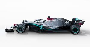 F1 champion Mercedes' 2020 car revealed ahead of track debut