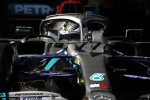 Mercedes a second clear as Bottas ends first F1 test on top
