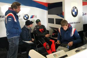 Shaun Muir Racing BMW squad makes World Superbike test debut