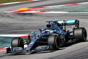 Bottas quickest on opening morning of Spain F1 test