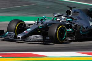 Mazepin quickest on Mercedes test debut in Barcelona