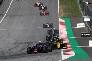 Formula 2 Austria - Feature Race Results