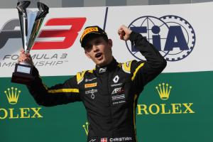 Lundgaard set for Formula 2 debut in Abu Dhabi