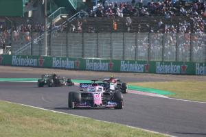 F1 timing glitch means Japanese GP finishes a lap early