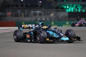 Camara wins Abu Dhabi opener as DAMS seal F2 title