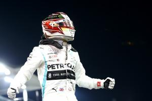 Hamilton glad to end pole drought after 'long slog'